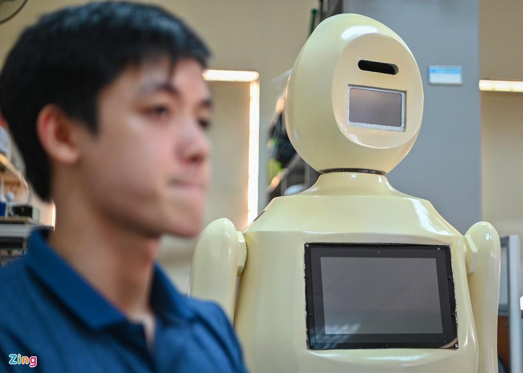 Robot phát hiện và nhắc nhở người không đeo khẩu trang Ảnh 7