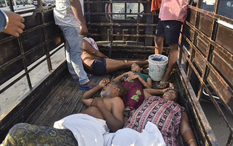 Rò rỉ khí gas khiến 9 người chết tại Ấn Độ Ảnh 3