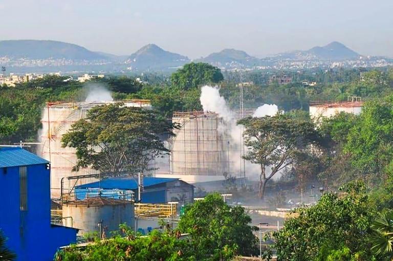 Rò rỉ khí gas khiến 9 người chết tại Ấn Độ Ảnh 2