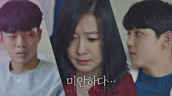 'Thế giới hôn nhân' tập 13: Sun Woo quỳ gối trước mặt tiểu tam vì con trai ăn cắp vặt, đánh bạn Ảnh 2