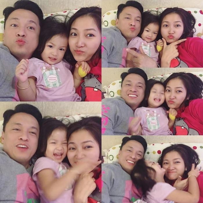Lam Trường kể bí mật từng bế bà xã Yến Phương hồi 7 tuổi, chia sẻ vợ rất yêu con riêng Ảnh 2