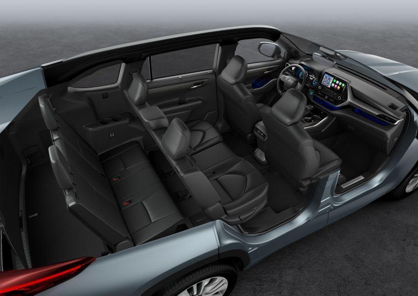 Toyota Highlander thế hệ mới ra mắt thị trường châu Âu Ảnh 4