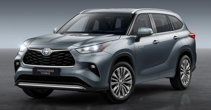 Toyota Highlander thế hệ mới ra mắt thị trường châu Âu Ảnh 1