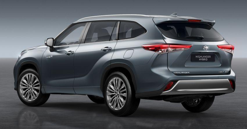 Toyota Highlander thế hệ mới ra mắt thị trường châu Âu Ảnh 2