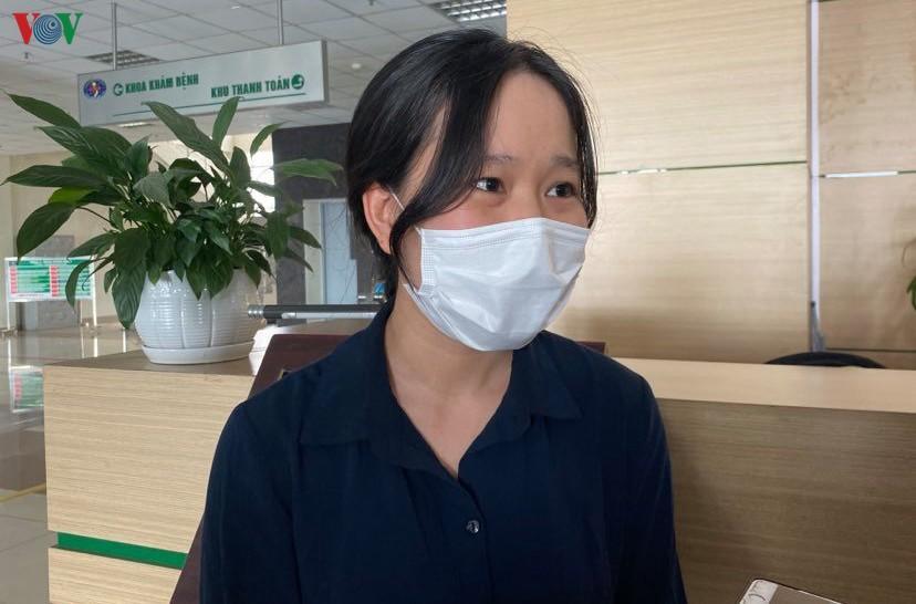 Nữ bác sĩ mắc Covid-19: 'Tôi chỉ lo lây nhiễm bệnh cho đồng nghiệp' Ảnh 1