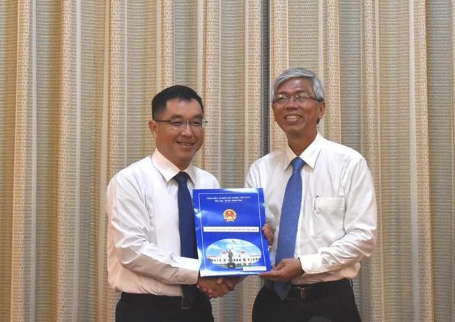 Phó chủ tịch quận 2 giữ chức Phó giám đốc Sở Xây dựng TP.HCM Ảnh 1