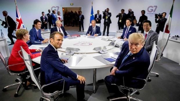 Ông Trump cân nhắc tổ chức hội nghị G-7 theo hình thức trực tiếp Ảnh 1