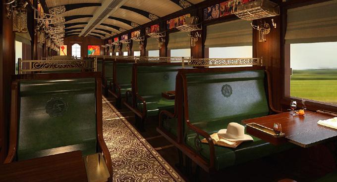 Lại xuất hiện chuyến tàu nối Huế - Đà Nẵng có nội thất xịn như trong phim, đặc biệt lại còn là tàu hơi nước đậm chất hoài cổ Ảnh 3