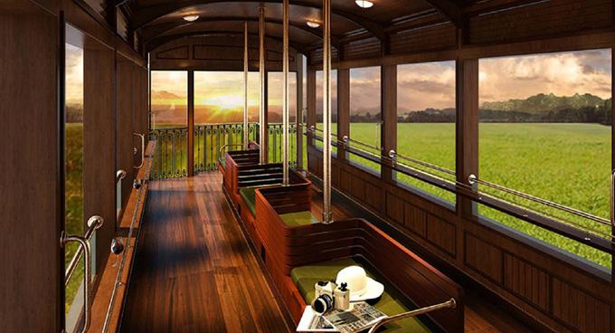 Lại xuất hiện chuyến tàu nối Huế - Đà Nẵng có nội thất xịn như trong phim, đặc biệt lại còn là tàu hơi nước đậm chất hoài cổ Ảnh 4