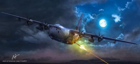 Mỹ biến AC-130J thành máy bay đánh chặn Ảnh 1