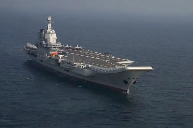 Tàu sân bay nội địa Trung Quốc ra biển thử nghiệm trở lại sau dịch Ảnh 1