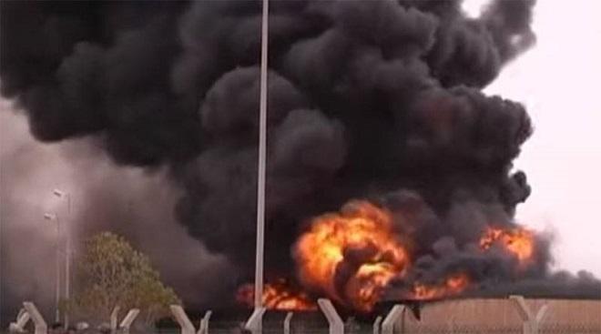 Căn cứ quân sự của Thổ Nhĩ Kỳ tại Libya bị máy bay không người lái UAE tấn công? Ảnh 1