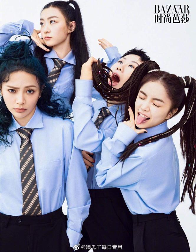 Top 20 'Thanh Xuân Có Bạn 2' chụp 'ảnh tốt nghiệp' lên hẳn tạp chí Harper's Bazaar Trung Ảnh 5