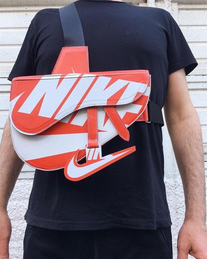 Chế hộp giày Nike thành túi Dior hơn 3.000 USD Ảnh 2