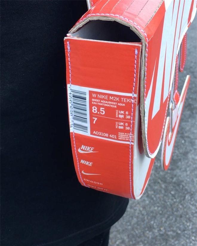 Chế hộp giày Nike thành túi Dior hơn 3.000 USD Ảnh 4