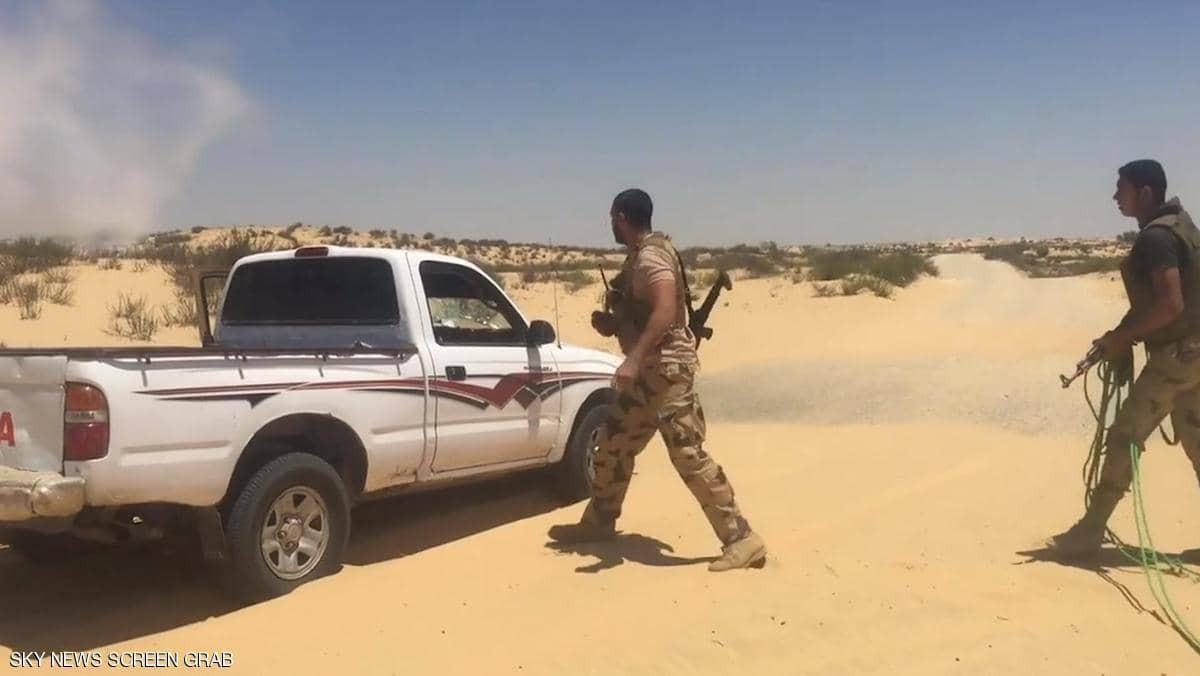 Ai Cập tiêu diệt 19 phần tử khủng bố ở Sinai Ảnh 1