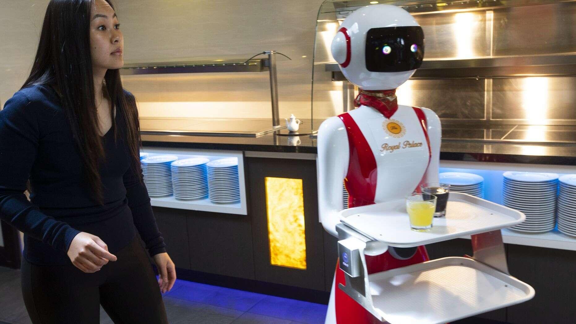 Robot phục vụ thực khách tại nhà hàng ở Hà Lan Ảnh 4