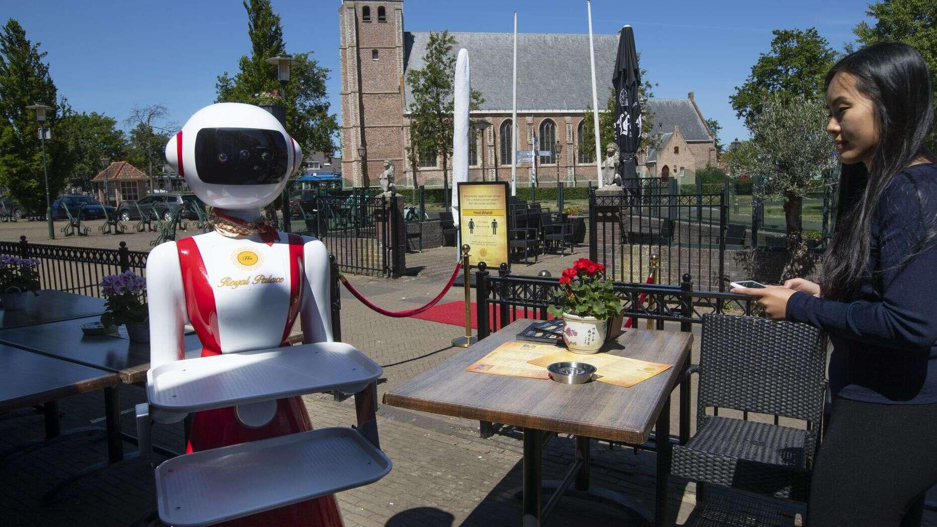 Robot phục vụ thực khách tại nhà hàng ở Hà Lan Ảnh 6