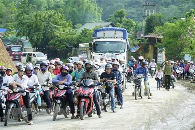 Điện Biên: Lật xe container chở chanh leo tại 'điểm đen' Nà Lơi Ảnh 2