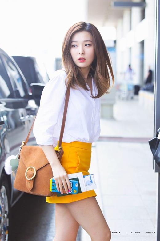 Thời trang đời thường đỉnh cao khiến Seulgi là nữ idol mặc đẹp hàng đầu Kpop Ảnh 6