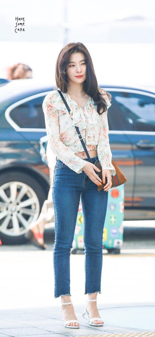 Thời trang đời thường đỉnh cao khiến Seulgi là nữ idol mặc đẹp hàng đầu Kpop Ảnh 4