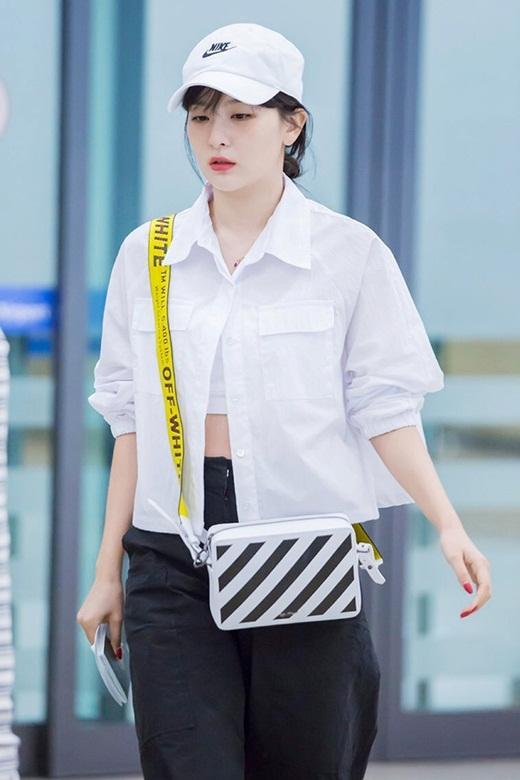 Thời trang đời thường đỉnh cao khiến Seulgi là nữ idol mặc đẹp hàng đầu Kpop Ảnh 9