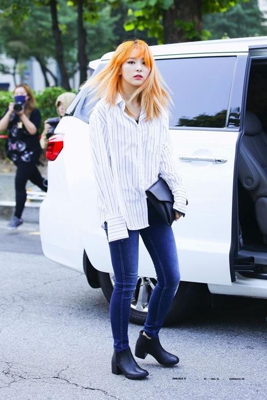 Thời trang đời thường đỉnh cao khiến Seulgi là nữ idol mặc đẹp hàng đầu Kpop Ảnh 5