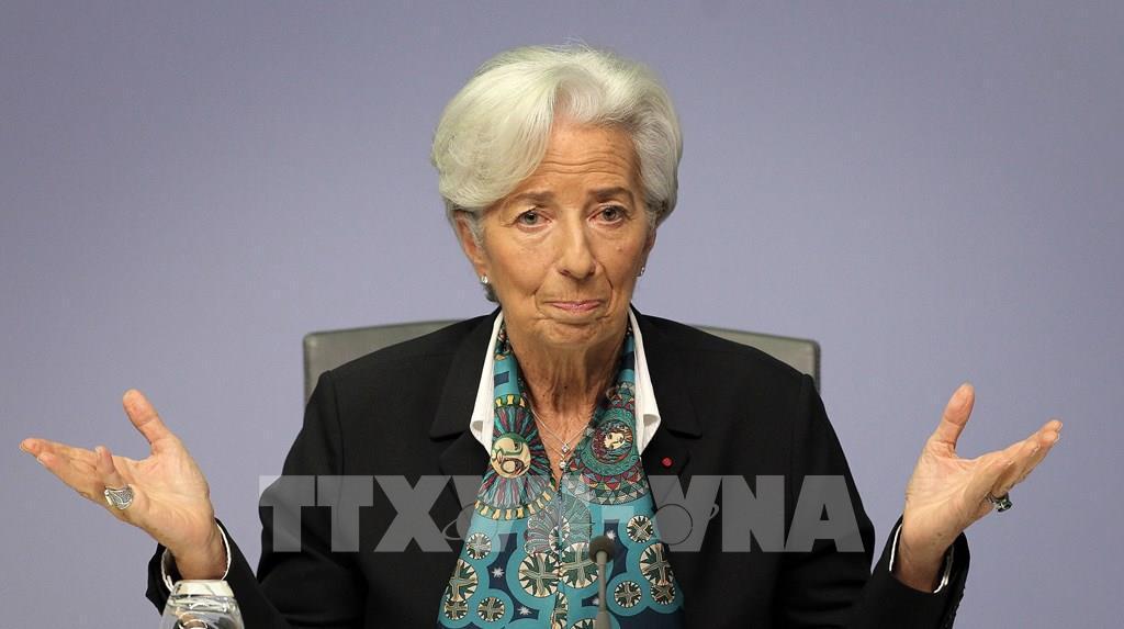 Chủ tịch ECB bảo vệ các biện pháp ứng phó với khủng hoảng do dịch COVID-19 Ảnh 1