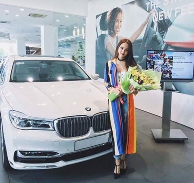 Dàn xế sang có giá hơn 13 tỉ của Hoa hậu Hương Giang Ảnh 2