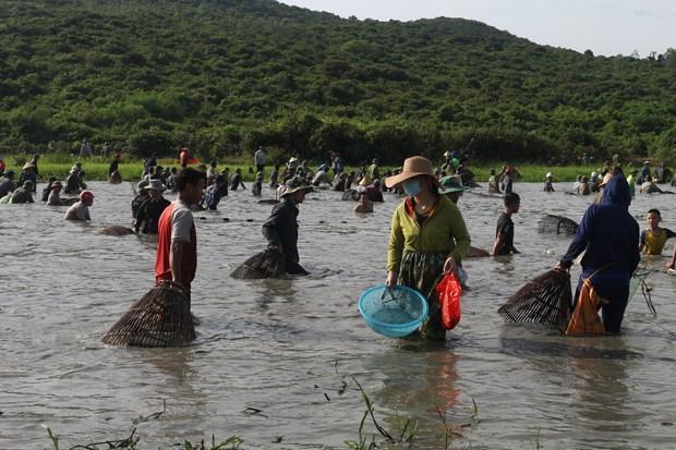 Độc đáo lễ hội Đồng Hoa - lễ hội đánh cá lâu đời gần 300 năm Ảnh 2