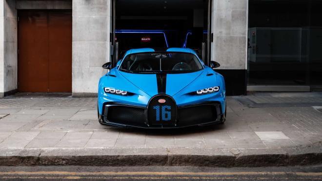 Ngắm Bugatti Chiron Pur Sport hàng hiếm lần đầu tiên xuất hiện tại London Ảnh 3