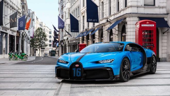 Ngắm Bugatti Chiron Pur Sport hàng hiếm lần đầu tiên xuất hiện tại London Ảnh 1