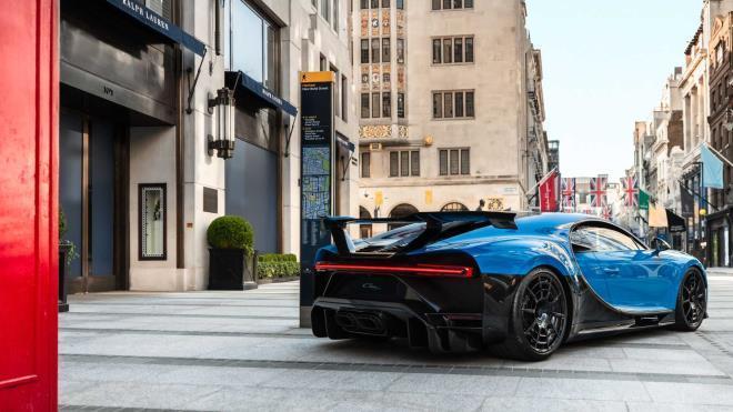 Ngắm Bugatti Chiron Pur Sport hàng hiếm lần đầu tiên xuất hiện tại London Ảnh 2