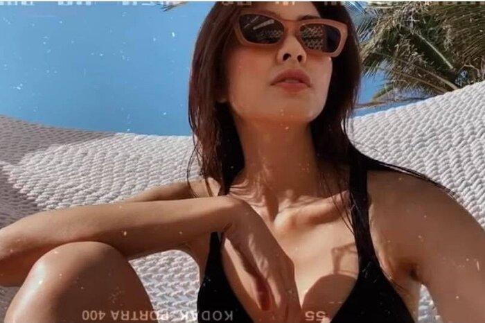 Hà Tăng - Tiên Nguyễn đọ dáng với bikini, cặp chị dâu em chồng hot nhất Vbiz là đây! Ảnh 3
