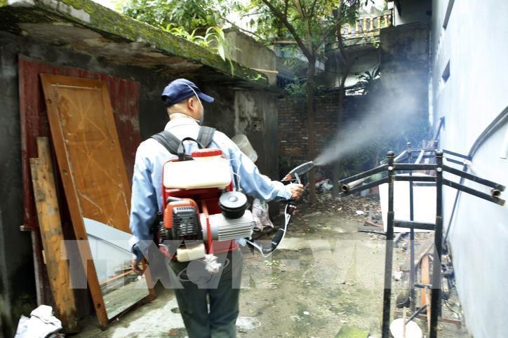 Nguy cơ phát sinh các ổ bệnh sốt xuất huyết ở Hà Nội Ảnh 1
