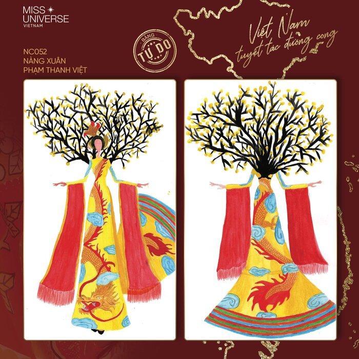 Hoài Sa có National Costume 'Bà Triệu', Khánh Vân mang 'Trưng Nữ Vương' oanh tạc Miss Universe? Ảnh 7