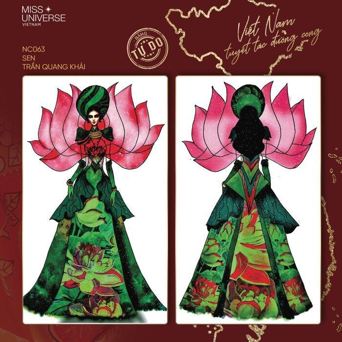 Hoài Sa có National Costume 'Bà Triệu', Khánh Vân mang 'Trưng Nữ Vương' oanh tạc Miss Universe? Ảnh 2