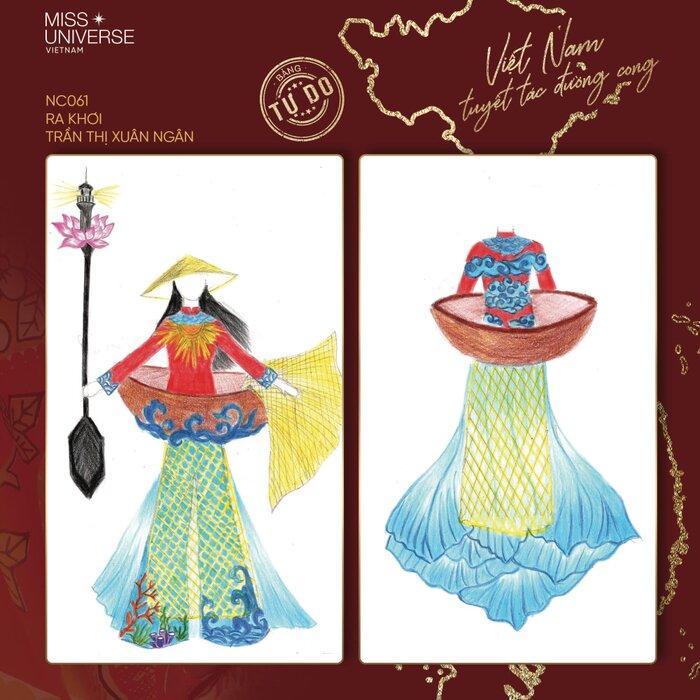Hoài Sa có National Costume 'Bà Triệu', Khánh Vân mang 'Trưng Nữ Vương' oanh tạc Miss Universe? Ảnh 9
