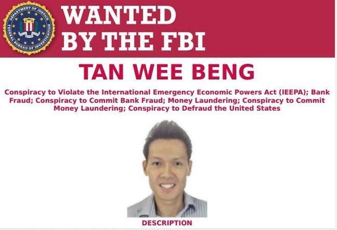 FBI truy nã người đàn ông Singapore bán đường cho Triều Tiên Ảnh 1