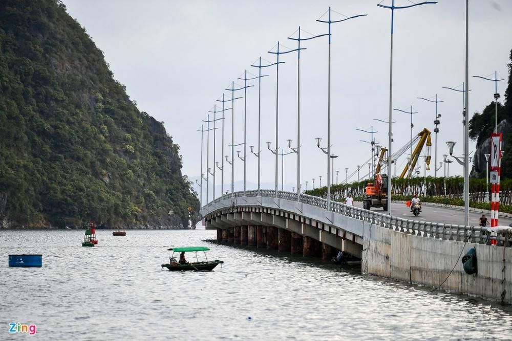 Cầu Bài Thơ 2 nối đường bao biển đẹp nhất Quảng Ninh Ảnh 6