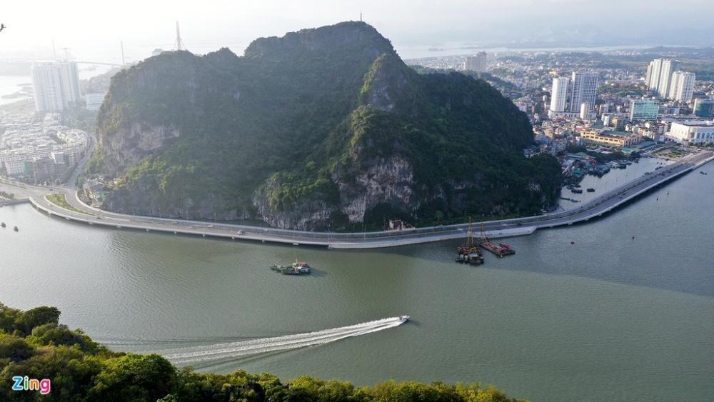 Cầu Bài Thơ 2 nối đường bao biển đẹp nhất Quảng Ninh Ảnh 2