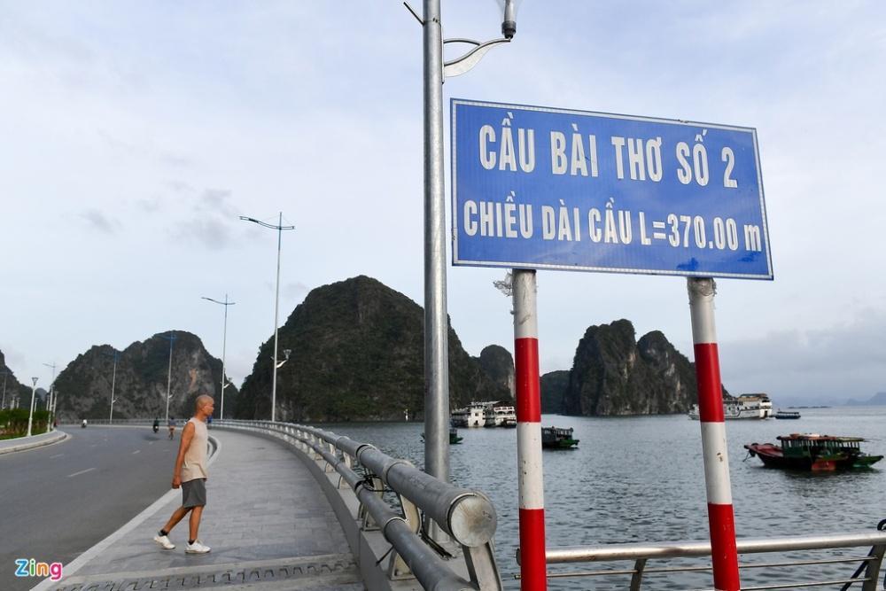 Cầu Bài Thơ 2 nối đường bao biển đẹp nhất Quảng Ninh Ảnh 5
