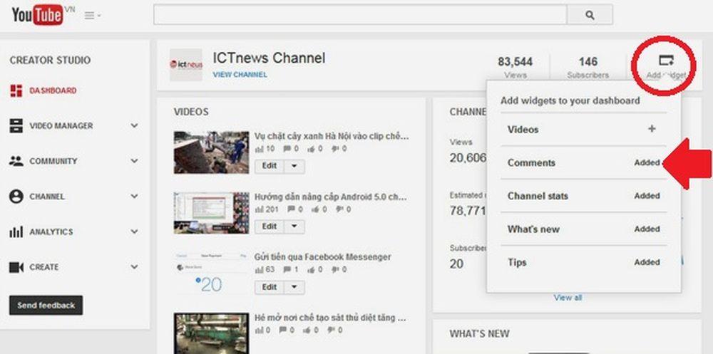 Theo dõi bình luận trên YouTube sao cho hiệu quả - ICTNews