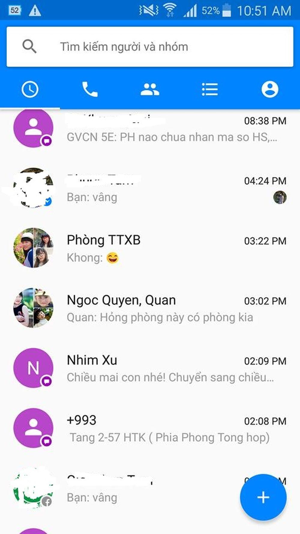 Nhắn tin SMS miễn phí trên Facebook Messenger