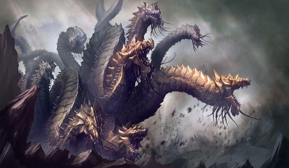 Hydra, một trong những quái vật nổi tiếng nhất trong thần thoại Hy Lạp