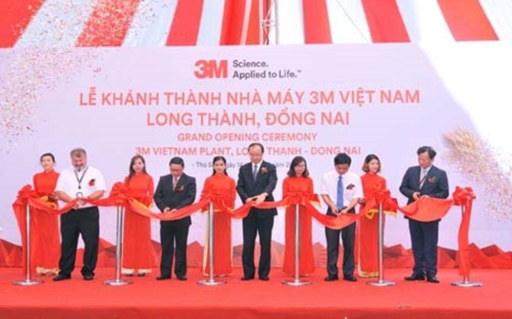 Công ty 3M Việt Nam khánh thành nhà máy mới