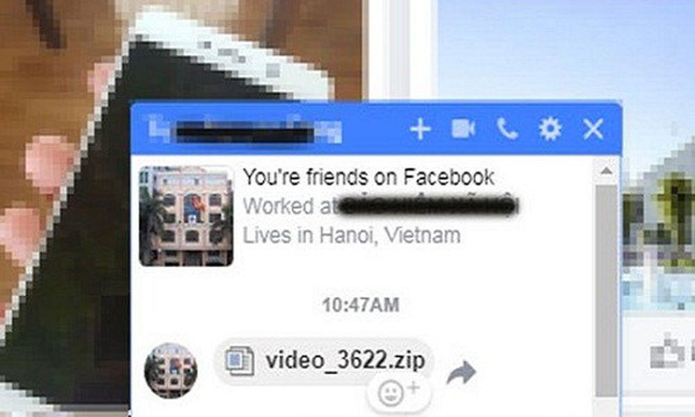 Mã độc giả mạo file video đang phát tán mạnh qua Facebook - Báo Kiến
