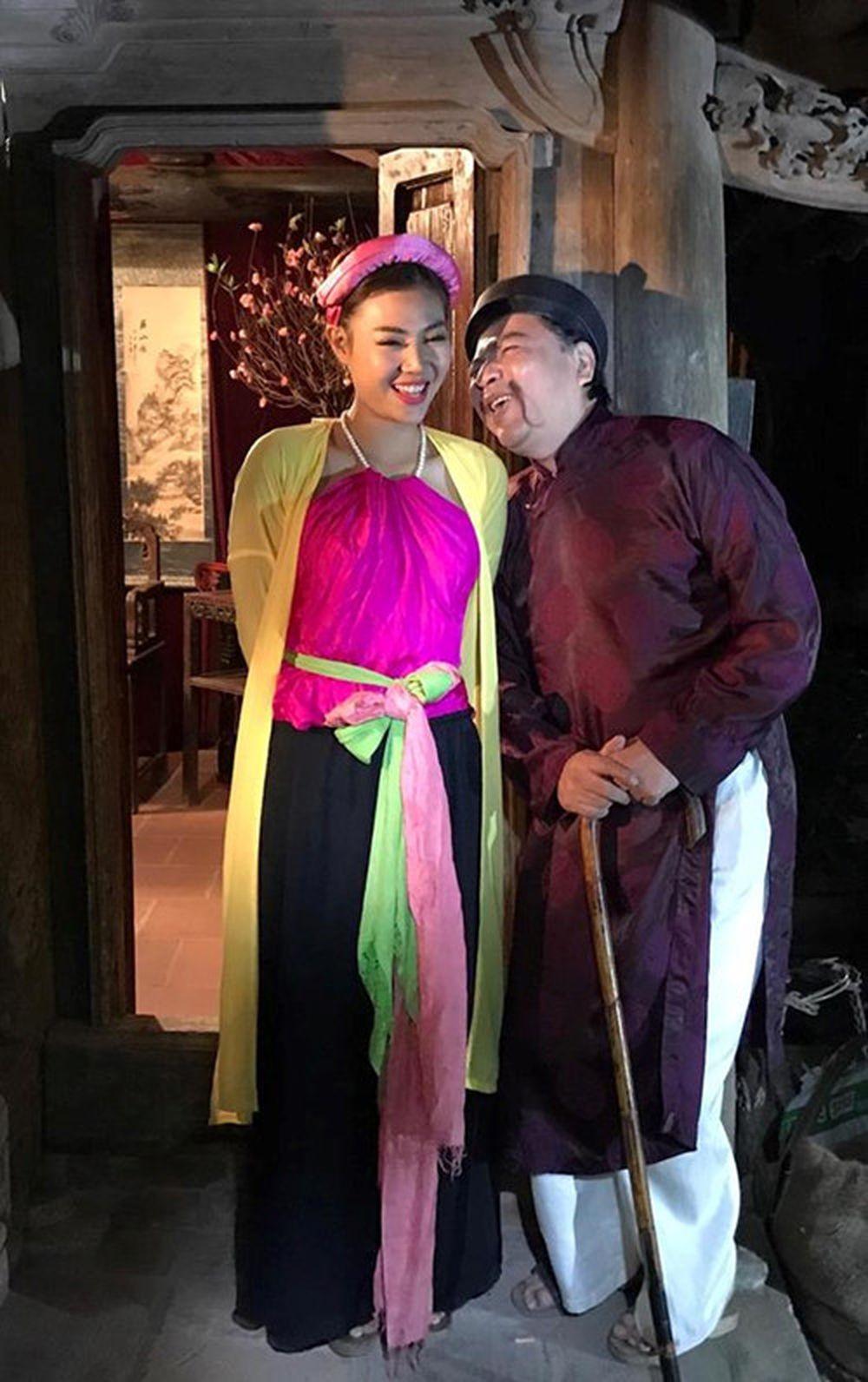 Diễn viên Thanh Hương vào vai vợ của nghệ sĩ Quốc Anh trong hài Tết \