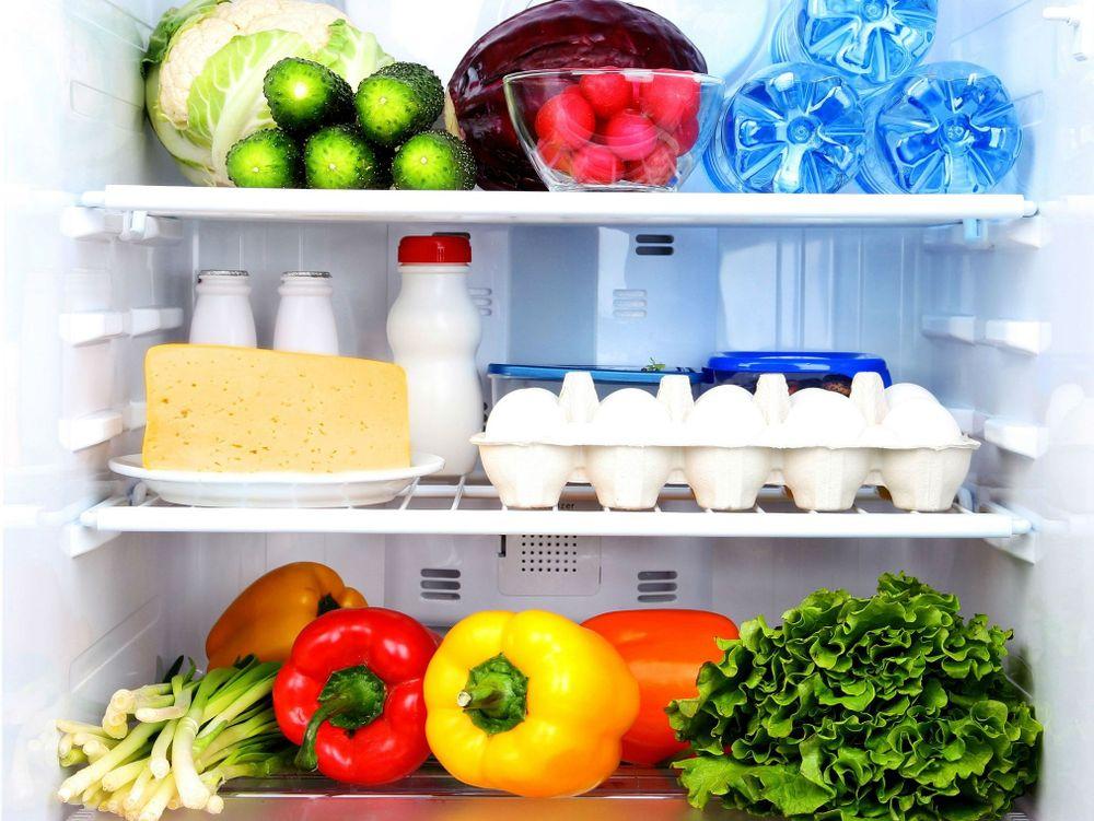 Kết quả hình ảnh cho thực phẩm tươi tủ lạnh