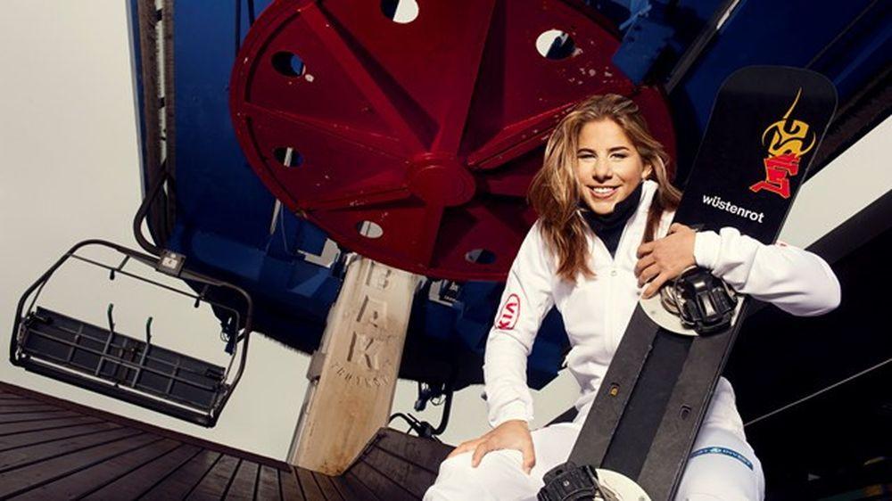 Kết quả hình ảnh cho Olympic mùa đông 2018: Thán phục nữ hoàng trượt tuyết Ledecka